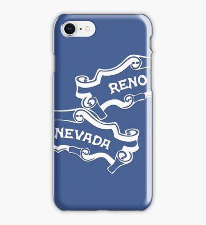 Reno Nevada (split familiar logo) iPhone Case/Skin