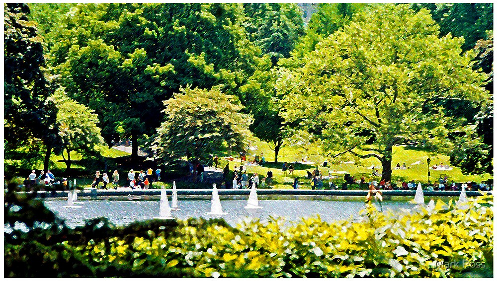 Central Park Sailboat Pond #1 by Mark Ross