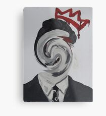 Faceless Moriarty Metal Print