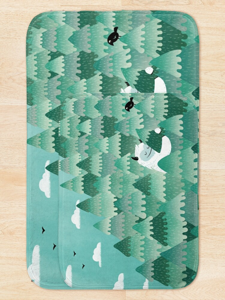 Alternate view of Tree Hugger (Spring & Summer version) Bath Mat