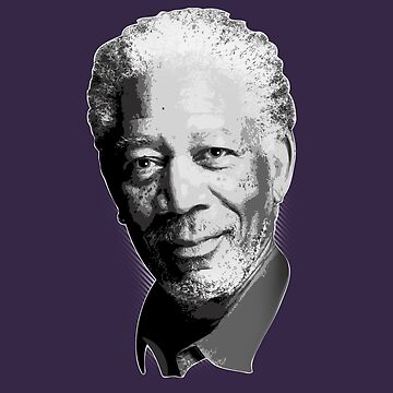 Morgan Freeman by stevebo77