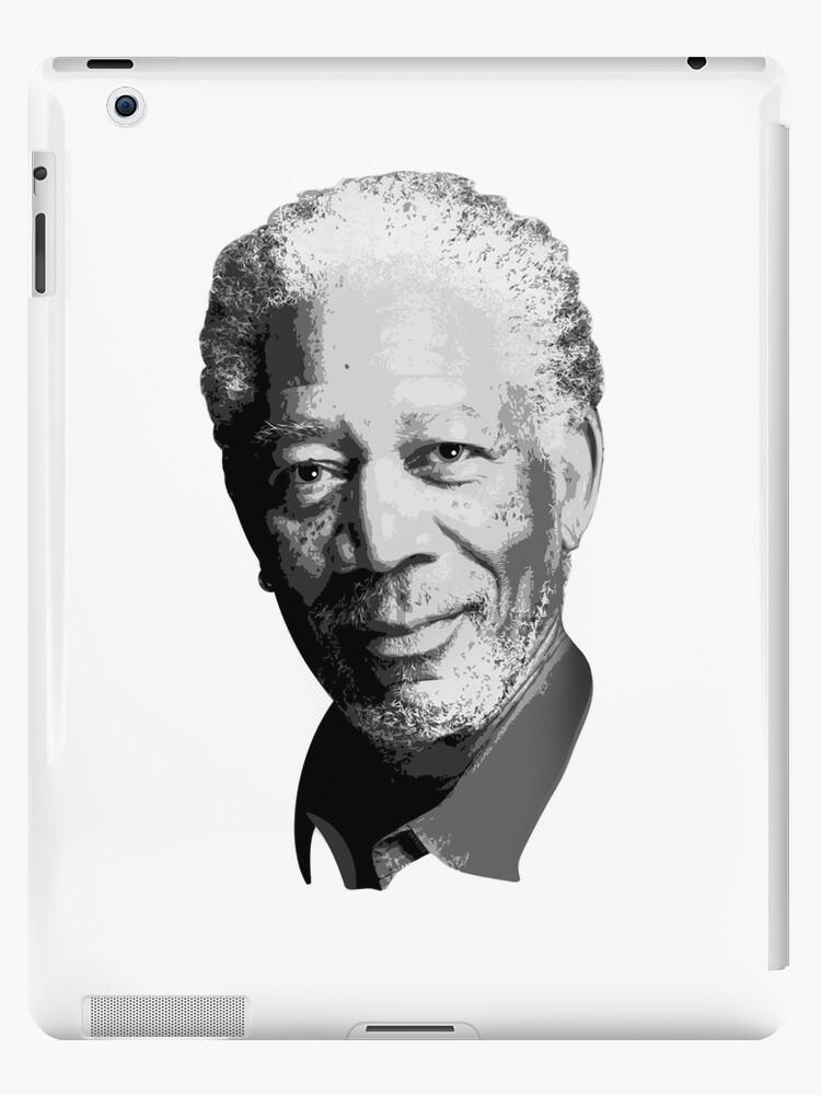 Morgan Freeman by Steve Hryniuk