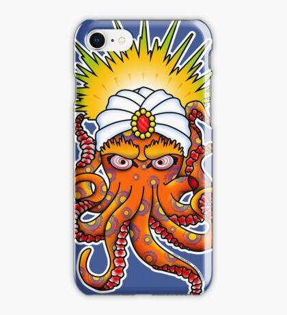 SwamiPuss - The Psychic Octopus iPhone Case/Skin