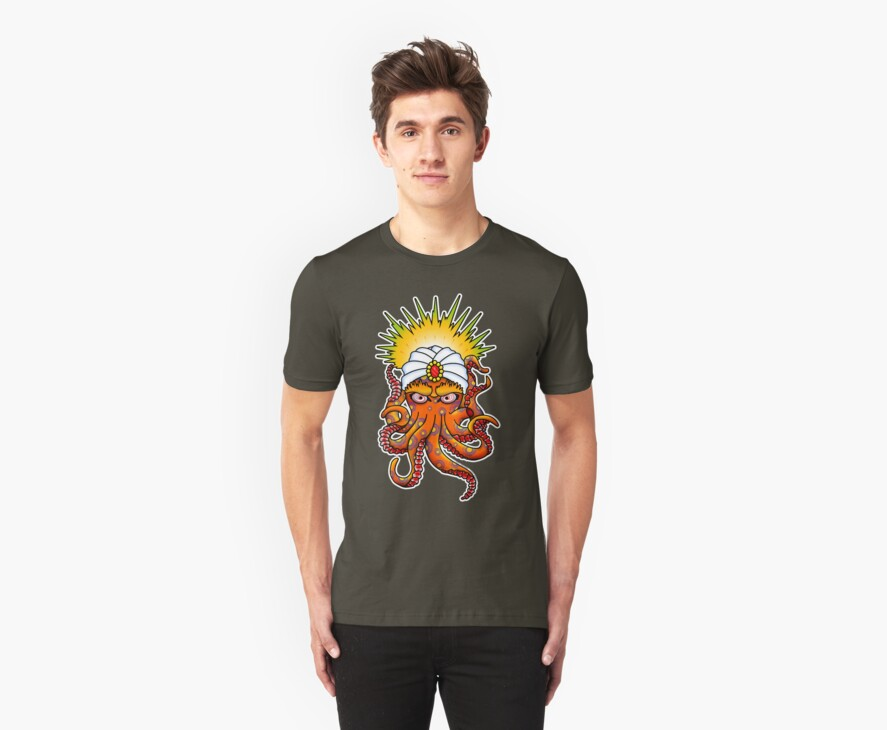 SwamiPuss - The Psychic Octopus by Steve Hryniuk