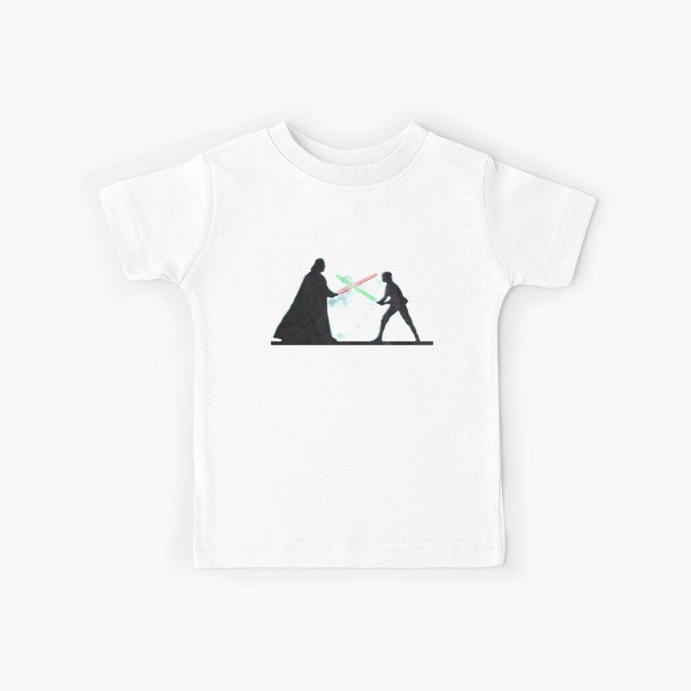 Vader Luke duelo Camiseta para niños