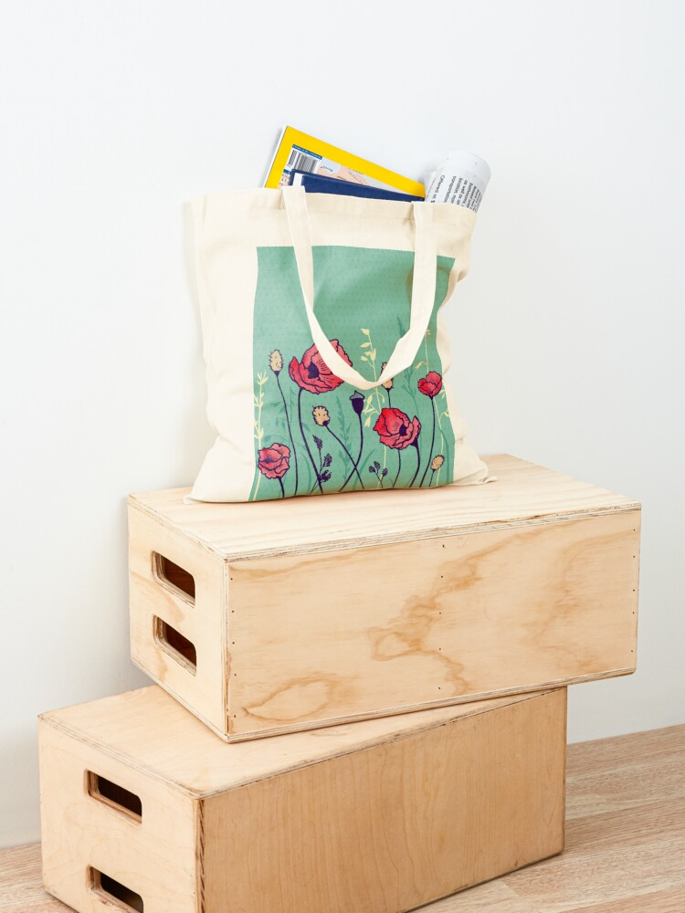 Alternate view of Summer Field Tote Bag