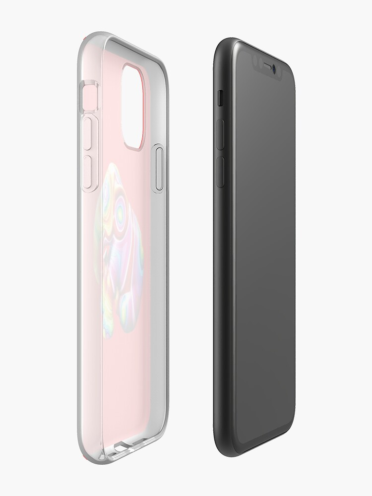 Coque iPhone « Éléphant arc-en-ciel », par JLHDesign