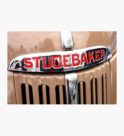 Studebaker Grill Photographic Print