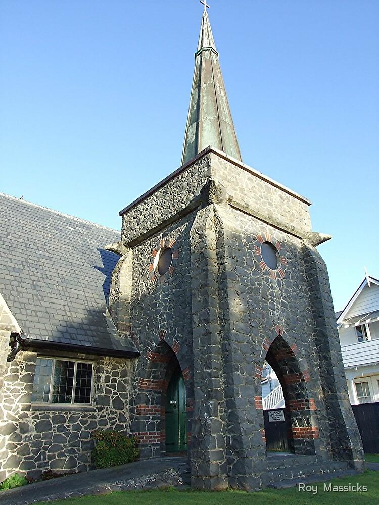 St Paul's, Paihia, New Zealand. by Roy  Massicks