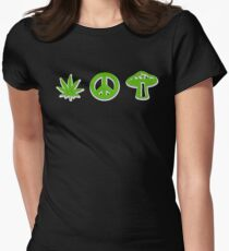 Marijuana Peace Mushrooms T-Shirt