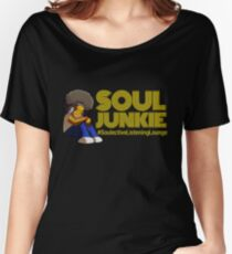 SOULective Listening Lounge Tee - 010 Women's Relaxed Fit T-Shirt