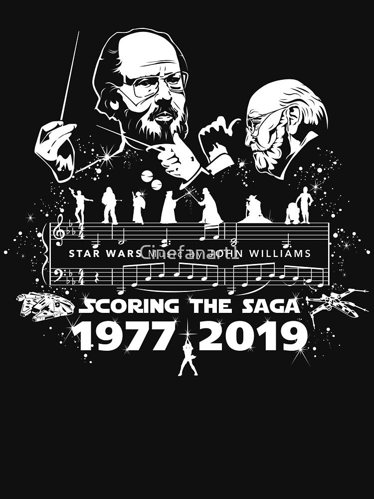 Movie Composers Series 1 - John Williams (Star Wars - Scoring the Saga) by Cinefanart1