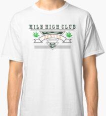 "Marijuana Denver ""Mile High Club"" Classic T-Shirt"