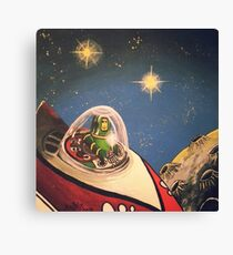 Space Toys Canvas Print