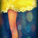 Party In A Yellow Dress by Vanessa Barklay