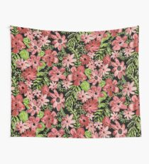 Floral Toss Wall Tapestry