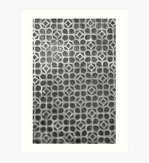 Spanish Wall Pattern 4 Art Print
