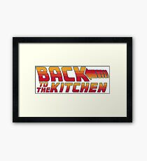 Back to the Kitchen Framed Print
