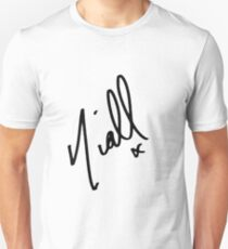 Niall Horan Signature  Unisex T-Shirt