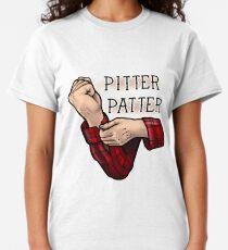 Pitter patter Classic T-Shirt