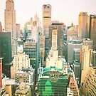 Chrysler Building and New York City Skyline by Vivienne Gucwa