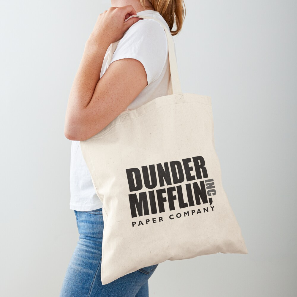 The Dunder Office Mifflin Inc. Design, T-Shirt, tshirt, tee, jersey, poster, Original Funny Gift Idea, Dwight Best Quote From Tote Bag