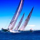 Sailboats  by Alex Preiss