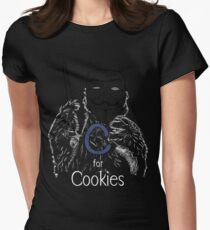 C for Cookie Womens Fitted T-Shirt