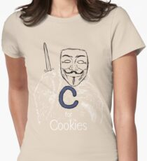 C for Cookie Women's Fitted T-Shirt