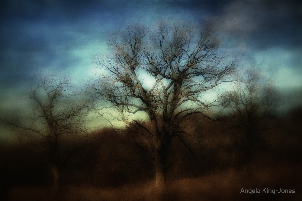 Three is a magic number by Angela King-Jones