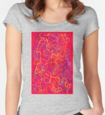 From Here to Eternity - original drawing Women's Fitted Scoop T-Shirt