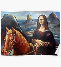 Mona in the Mountains, (glasshouse mountains) Poster