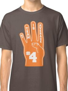 Orange Foam Finger Classic T-Shirt