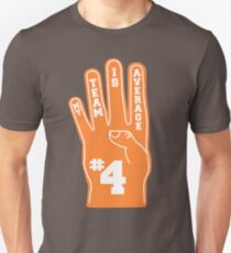 Orange Foam Finger Unisex T-Shirt