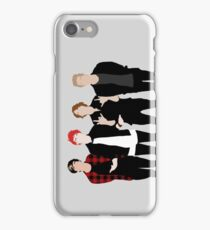 5SOS Silhouettes iPhone Case/Skin