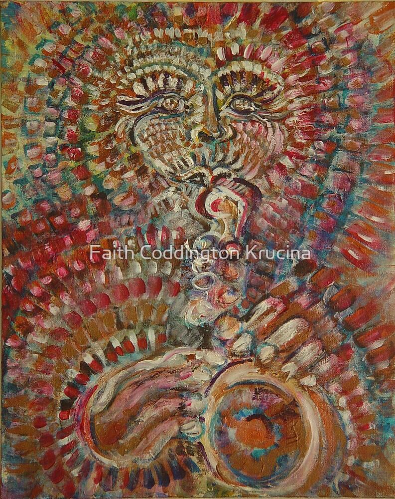 Aztec Horn by Faith Coddington Krucina