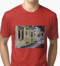 SUMMER IN THE SUBURBS Tri-blend T-Shirt