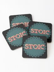 Stoic - The Joy of Being Coasters