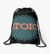 Stoic - The Joy of Being Drawstring Bag