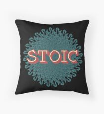 Stoic - The Joy of Being Throw Pillow