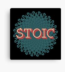 Stoic - The Joy of Being Canvas Print