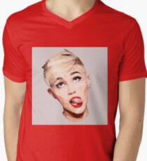 Miley Best Angles Mens V-Neck T-Shirt