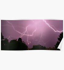 Lightning Of Fury Poster
