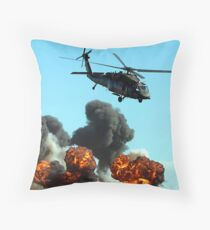 Australian Army Helicopter 3 Throw Pillow
