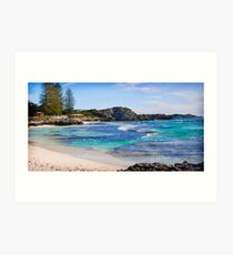 The Basin Rottnest Island Art Print