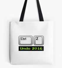 Undo 2016: Ctrl Z (PC) Tote Bag