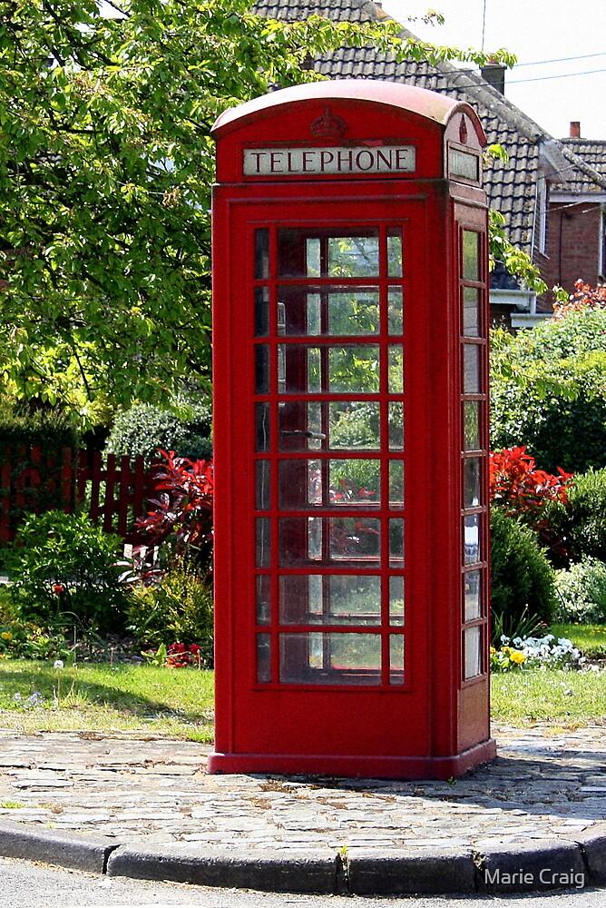 Red Phone Box by Marie Craig