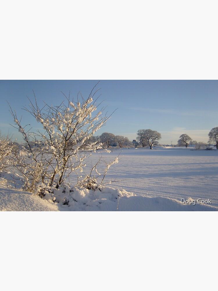 Winter Scene Dalmeny by DougCook