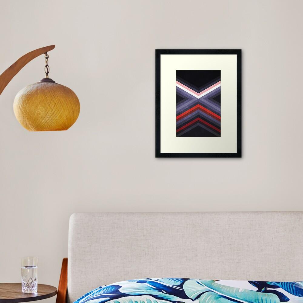 The Battle of Yavin Framed Art Print