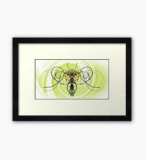 String Bee Framed Print